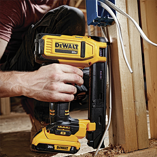 New Dewalt Cordless Electrical Cable Stapler, DCN701