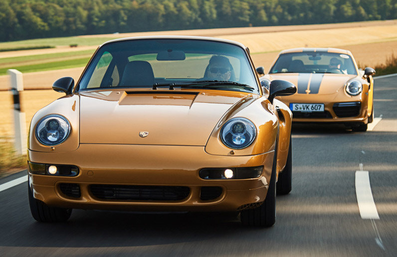 Behind the scenes of the Porsche 911 Turbo 993 'Project Gold' with Porsche's restoration manager